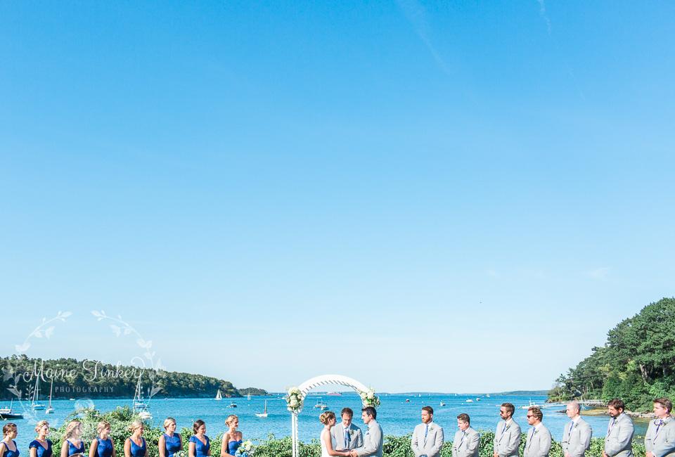 Teia Club Peaks Island Wedding
